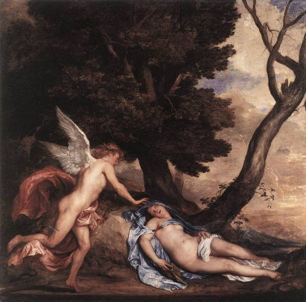 DYCK Anthony Van Cupid and Psyche